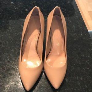 Jessica Simpson Nude Pointed Toe Heels